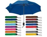 Paraguas plegable, estuche de nylon.