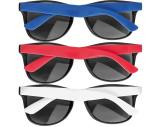 Gafas de sol con patillas de color