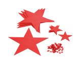 Set de estrellas de fieltro